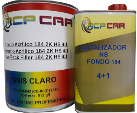 KIT FONDO HS-184 5+1 BLANCO + CATALIZADOR  6 LTS