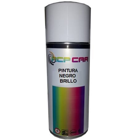 SPRAY PINTURA NEGRO BRILLO 400 ML