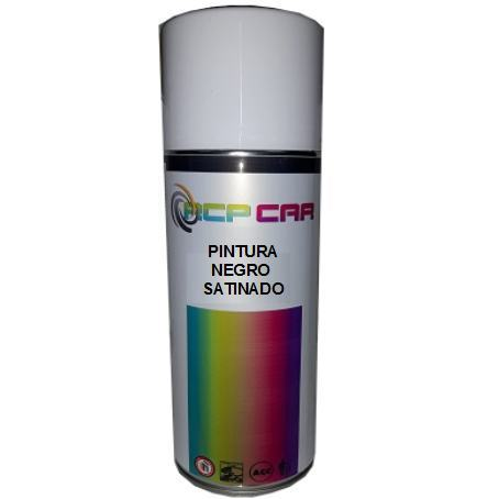 SPRAY PINTURA NEGRO SATINADO 400 ML