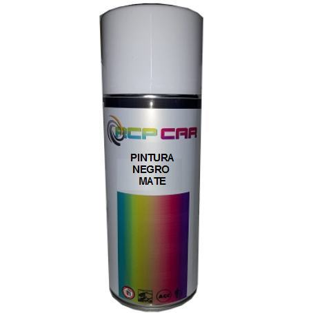 SPRAY PINTURA NEGRO MATE 400 ML