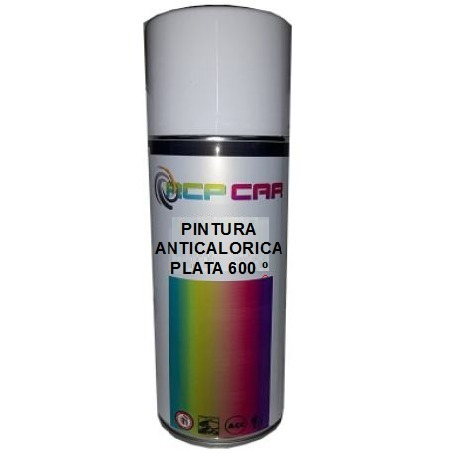 SPRAY PINTURA ANTICALORICA PLATA 400 ML