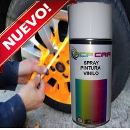 SPRAY PINTURA VINILO MATE 400 ML